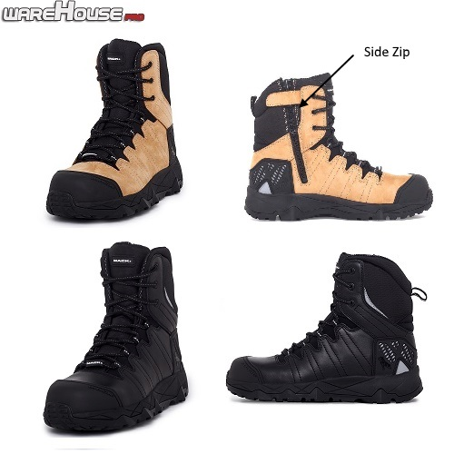 MACK TERRAPRO ZIP/LACE UP SAFETY BOOT