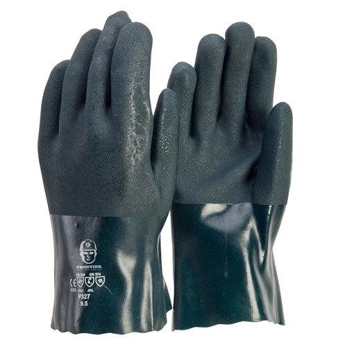 Glove - PVC Double Dip 27cm L (Pack of 12)