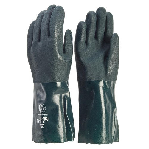 Glove - PVC Double Dip 35cm L (Pack of 12)