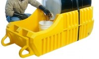 Outdoor Spill Containment Caddy