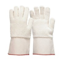 Glove - Terricord 10cm cuff L (Pack of 6)