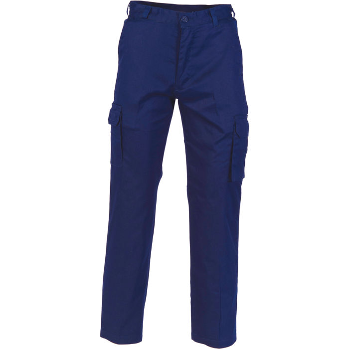 DNC 3316 Lightweight Cotton Cargo Pants 1