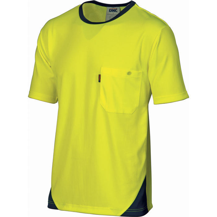 DNC 3711 HiVis Cool-Breathe Tee - Short Sleeve