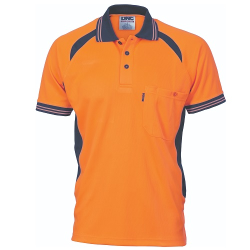 Work Polo- Short Sleeve- Cool Breeze Mesh
