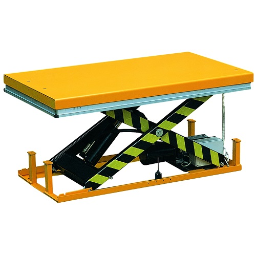 Electric Lift Tables HW 1-2-4 Ton Capacity