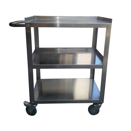 120KG 3 tier Stainless trolley