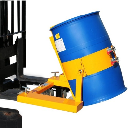 Drum Lifter & Tipper / Forklift Attachment