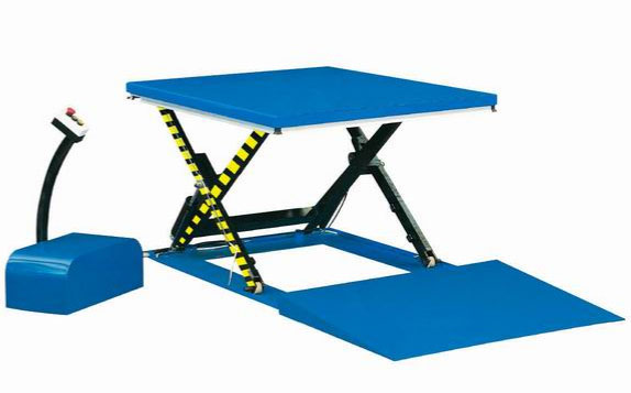 Low Profile Lift Table HY Series 1-1.5-2 Ton Capacity