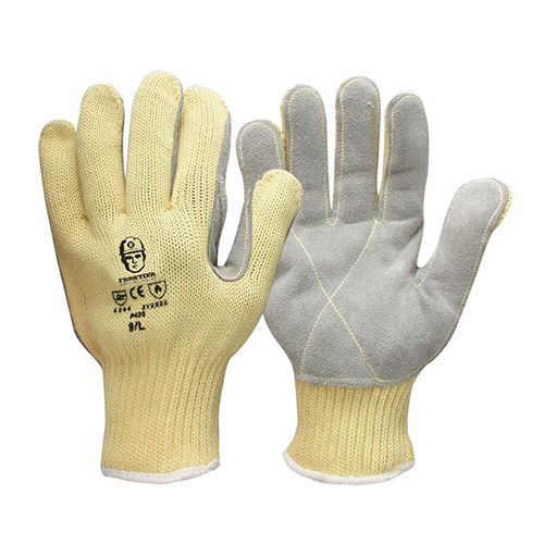 Glove-Dupont Kev/Leather L (Pack of 12)