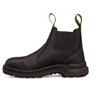 15-480 Black Elastic Sided Boot