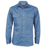 Cotton Drill Work Shirt