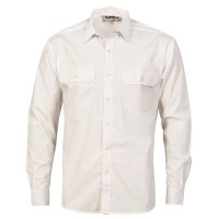 Polyester Cotton Work Shirt- Long Sleeve