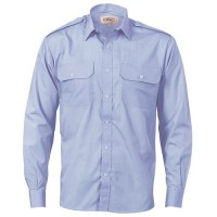 Epaulette Polyester/Cotton Work Shirt
