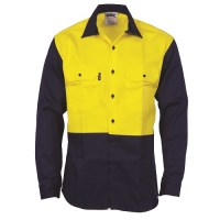 Flame Retardant Two Tone Drill Shirt