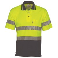 DNC 3717 Hi Vis Two Tone Cotton Back
