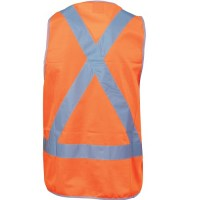DNC 3805 Day/Night Cross Back Safety Vests 1