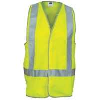 Day/Night Cross Back Safety Vest