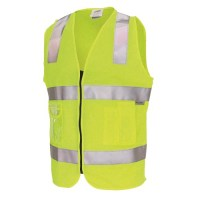DNC 3807 Day/Night Side Panel Safety Vests 1