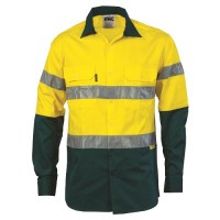 Hi Vis Two Tone Drill Shirt