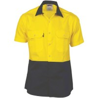 Hi Vis 2 Tone Cool Breeze Cotton Shirt