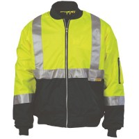 DNC 3862 HiVis Two Tone Flying Jacket with 3M R/Tape
