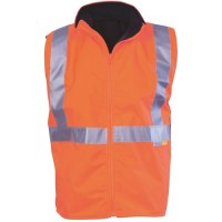 Hi Vis Reversible Vest with 3M R/Tape