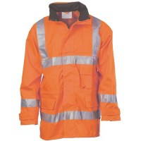 Hi Vis D/N Breathable Rain Jacket