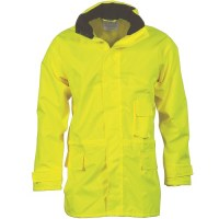 DNC 3873 HiVis Breathable Rain Jacket