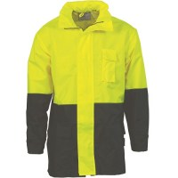 Hi Vis Two Tone Light Weight Rain Jacket