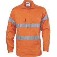 Hi Vis Cool-Breeze Close Front Cotton Shirt