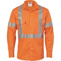 Hi Vis Cool-Breeze Cross Back Cotton Shirt