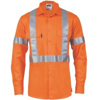 DNC 3989 HiVis D/N Cotton Shirt