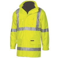 "Hi Vis Cross Back D/N ""6 in 1"" Jacket"
