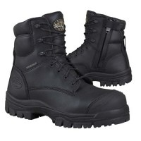 Oliver Boots- 45-645Z  150mm Black Zip Up
