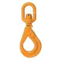 Grade 80 Eye Swivel Self Locking Safety Hook