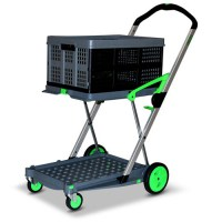 Clax Folding Office Trolley Cart 1