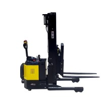 Full Electric Walkie reach Stacker- 1500kg Capacity / 5.5m Lift