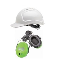 Wave Hard Hat Earmuff