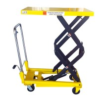 Manual Scissor Lift Table- 350kg Capacity- 1.3m Lift