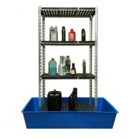 Single Depth Bunded Shelving