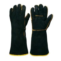Frontier Black & Gold Welders Glove
