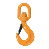 Grade 80 Eye Swivel Hook with Safety Latch
