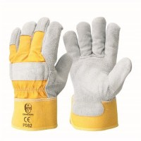 Glove-Drll Back Leather Palm L (Pack of 12)