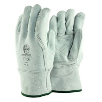 Glove Frontier Premium Double Palm Chrome Leather Large. Pack of 12