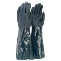 Glove-Green Double Dip 45cm L (Pack of 12)