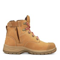 Oliver Boots: 49-432Z Women's Wheat Zip Sided Boot