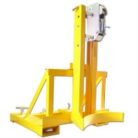 Single Drum Picker Forklift Attachment