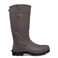 Oliver Gumboots: 22-205  Grey Safety Gumboot